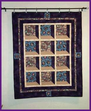 Attic window pane quilt pattern quilts patterns for Window pane quilt design
